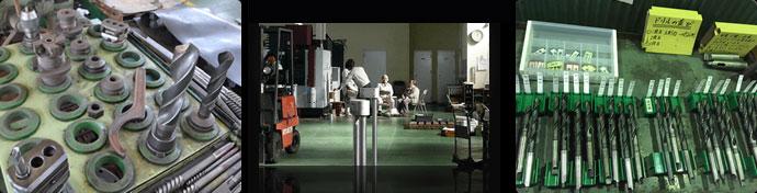 毎日作業する場所だからこそ、工具の整理整頓・床の清掃はマメに行っております。